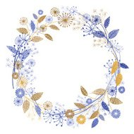 Wildflowers Garden Wreath