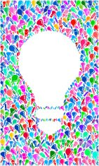 Light Bulb on royalty free vector Lightbulb Pattern Background