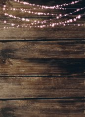 Rustic String Lights Background Premium Clipart