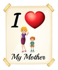 I love my mother