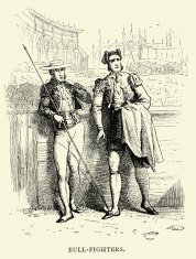 Spanish Pictures - Bullfighters Matador and Picador