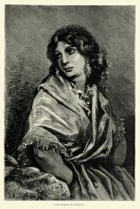 Spanish Pictures - Young woman of Valencia