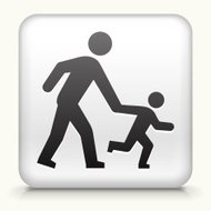 Square Button with Parent & Child