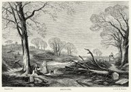 19th Century Sping Landscape
