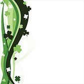 Abstract Clover Background
