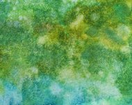 Blue and green textured watercolor background