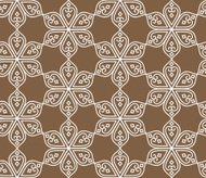 Indian seamless abstract pattern of traditional vintage flowers