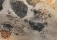 Weathered and worn texture on paper