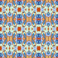authentic seamless geometry vintage pattern