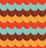 seamless retro ocean wave pattern