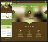 Une Page de site Web Design