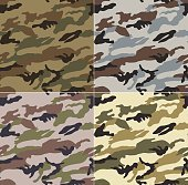 seamless abstract camouflage pattern