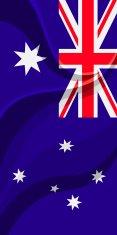 Flag of Australia Vertical