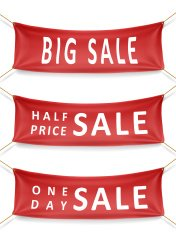 sale series banners