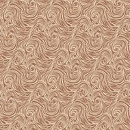 Seamless abstract hand-drawn curly pattern with waves and swirls