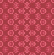 Cute floral seamless pattern. Vector illustration