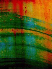 Grunge multicoloured painted texture