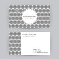 Business Card Line Art Diamond Background
