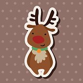 Christmas flat icon elements background,eps10