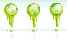Global Warming - Green