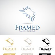 Square Frame Icon in Various Colors