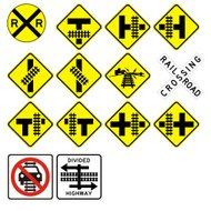 Accurate Highway Railroad Crossing Signs