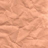 Folds the paper. Kraft paper. vector