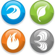 Earthly Elements Icons