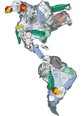 Landfill, The Americas on White  - Importance of Recycling
