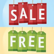 Sale and Free Label