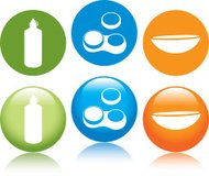 Contact Lens Icons