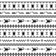 African Tribal Pattern Ethnic ornament