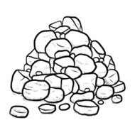 stack of rock