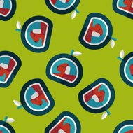 Pet bed flat icon,eps10 seamless pattern background