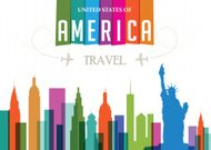 World Travel and Famous Locations - America