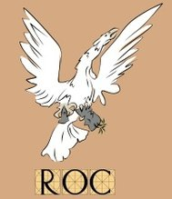 Roc bird with title