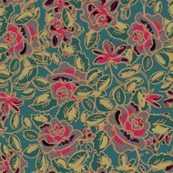 Seamless pattern with grow roses flower