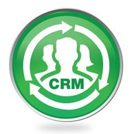 CRM Badge Icon in Green