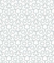dark monochrome color triangle outline abstract geometric seamle