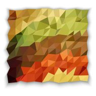 Earth tone color of triangle abstract wallpaper