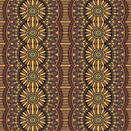 Abstract vector tribal ethnic seamless pattern