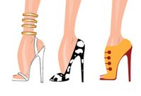Shoes - fashion illustration