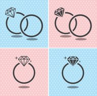 Diamond Ring Symbol