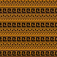 Greek border seamless pattern