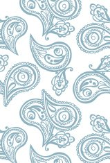 Paisley. Endless pattern with paisley.