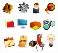 Business & Office Web Icons