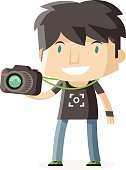 photographer with a camera