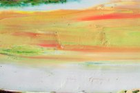 Abstract painted yellow art backgrounds.
