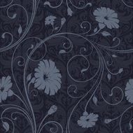 Seamless floral wallpaper background