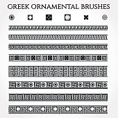 Greek Ornament Border